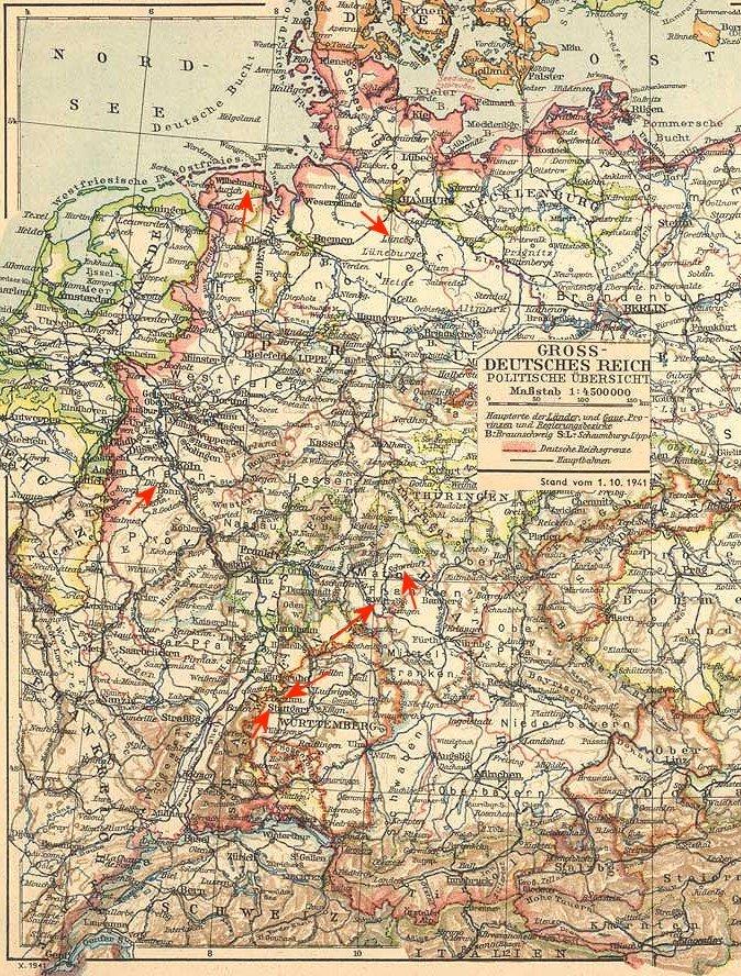 Deutsches Reich Karte.Wgsebld De Karte Deutsches Reich