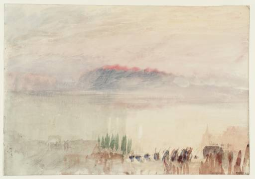 Turner: Funeral at Lausanne